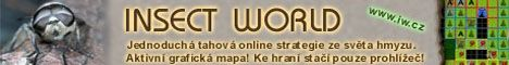 Online hra Insect world - banner